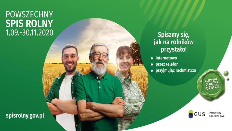 Komunikat Wojewódzkiego Biura Spisowego w Kielcach na temat Powszechnego Spisu Rolnego 2020