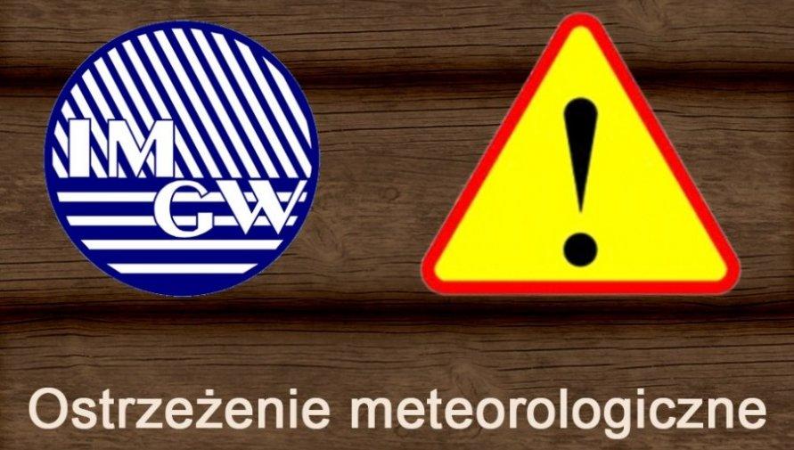 Ostrzeżenie meteorologiczne Nr 83